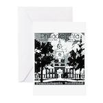 Visit Philadelphia on the PRR Greeting Cards (Pack