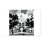 Visit Philadelphia on the PRR Postcards (Package o