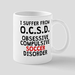 Obsessive Compulsive Soccer Disorder Mugs