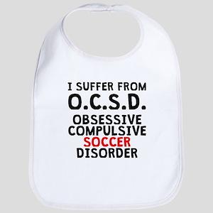 Obsessive Compulsive Soccer Disorder Bib