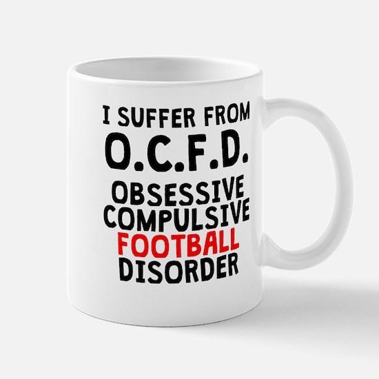Obsessive Compulsive Football Disorder Mugs