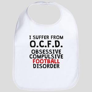 Obsessive Compulsive Football Disorder Bib