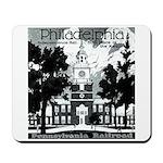 Visit Philadelphia on the PRR Mousepad