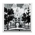 Visit Philadelphia on the PRR Tile Coaster