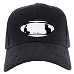 Fat Cat & Cat Lover Black Cap with Patch