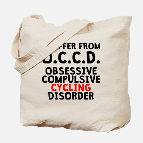 Obsessive Compulsive Cycling Disorder Tote Bag