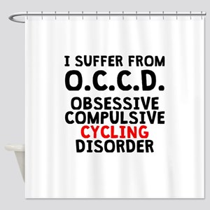 Obsessive Compulsive Cycling Disorder Shower Curta
