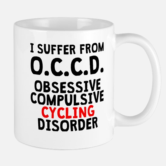 Obsessive Compulsive Cycling Disorder Mugs