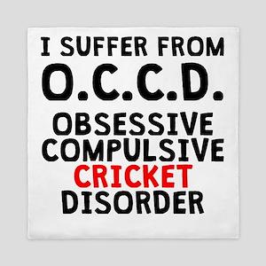 Obsessive Compulsive Cricket Disorder Queen Duvet