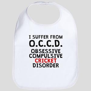 Obsessive Compulsive Cricket Disorder Bib