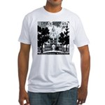 Visit Philadelphia on the PRR Fitted T-Shirt