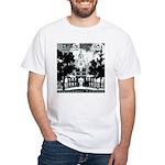 Visit Philadelphia on the PRR White T-Shirt