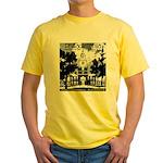 Visit Philadelphia on the PRR Yellow T-Shirt