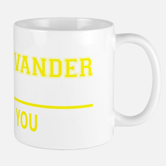 Unique Vander Mug