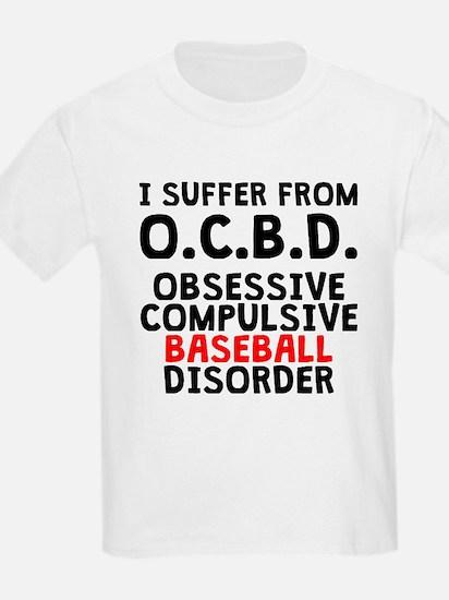 Obsessive Compulsive Baseball Disorder T-Shirt