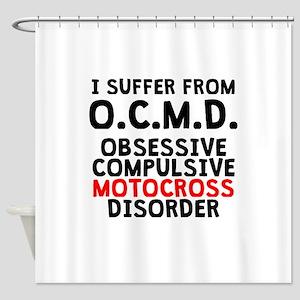 Obsessive Compulsive Motocross Disorder Shower Cur