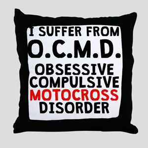 Obsessive Compulsive Motocross Disorder Throw Pill