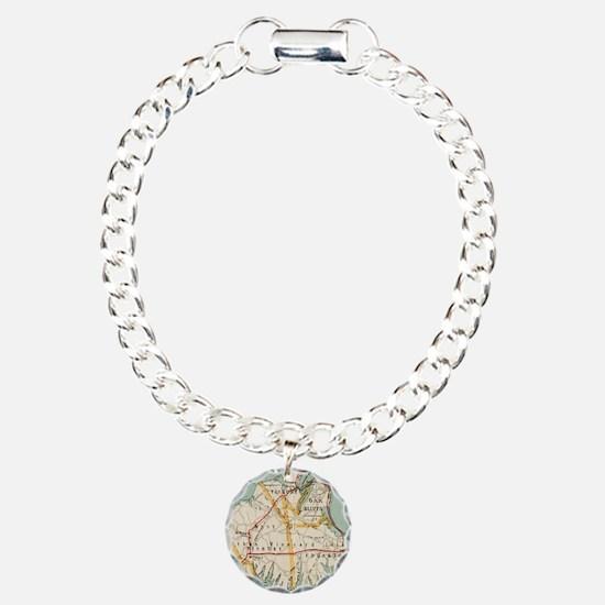 Vintage Map of Martha's Bracelet