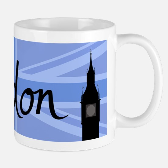 London Union Jack & Sites Mugs