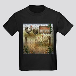 Home Sweet Home Chickens and Roosters T-Shirt