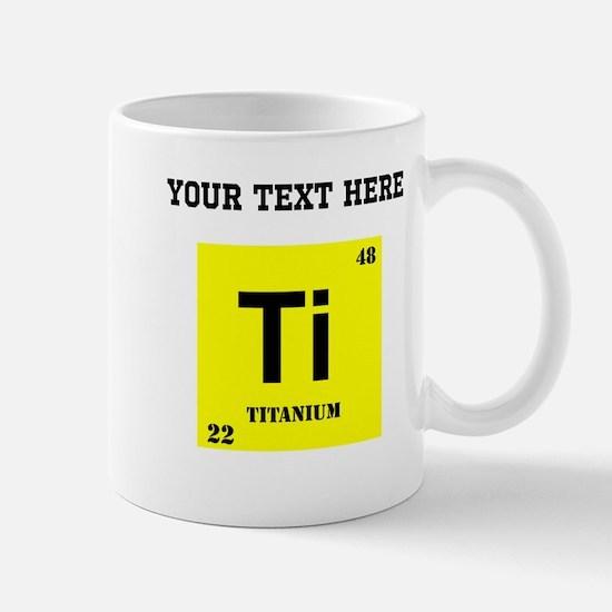 Custom Titanium Mugs