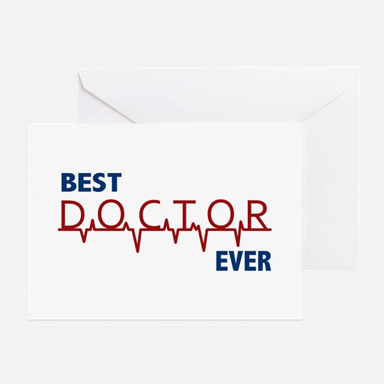 Best Doctor Ever Greeting Card