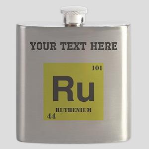 Custom Ruthenium Flask