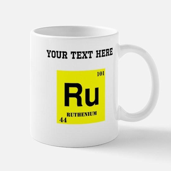 Custom Ruthenium Mugs
