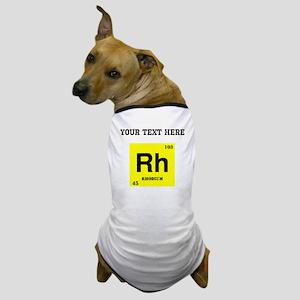 Custom Rhodium Dog T-Shirt