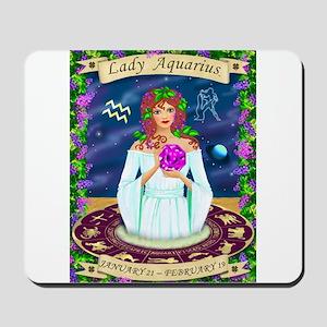 Lady Aquarius Mousepad