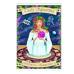 Lady Aquarius Postcards (Package of 8)