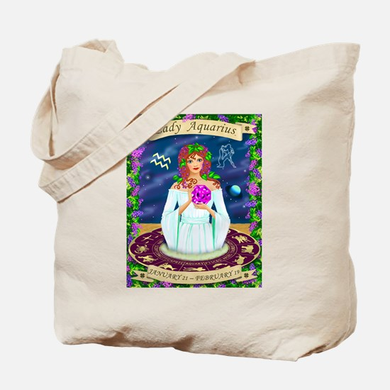 Lady Aquarius Tote Bag