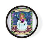 Lady Aquarius Wall Clock