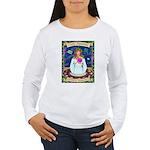Lady Aquarius Women's Long Sleeve T-Shirt