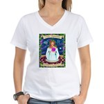 Lady Aquarius Women's V-Neck T-Shirt