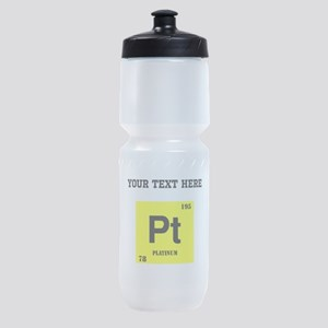 Custom Platinum Sports Bottle