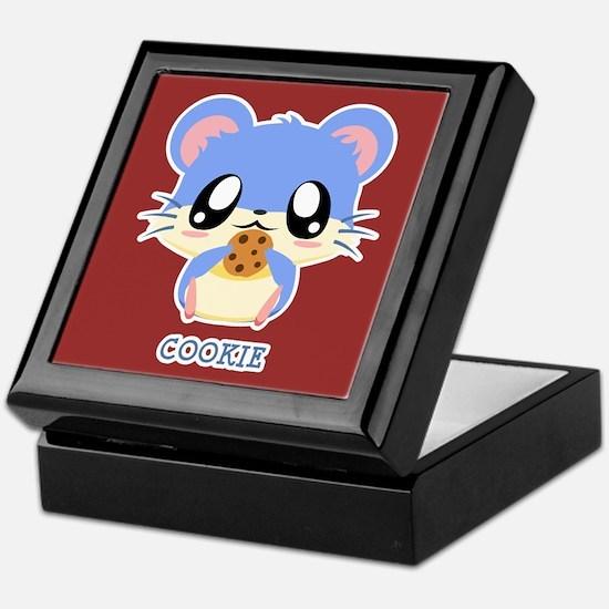 Cookie Hamster Keepsake Box