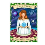 Lady Pisces Postcards (Package of 8)