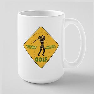 Ladies Golf Large Mug