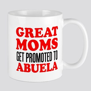 Promoted To Abuela Drinkware Mugs