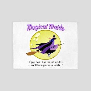 Magical Maids 5'x7'Area Rug