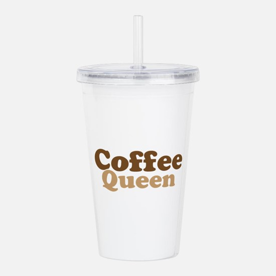 Coffee Queen Acrylic Double-wall Tumbler