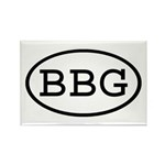 BBG Oval Rectangle Magnet (10 pack)