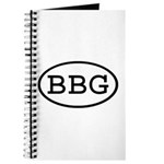 BBG Oval Journal