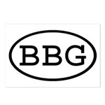 BBG Oval Postcards (Package of 8)