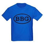 BBG Oval Kids Dark T-Shirt