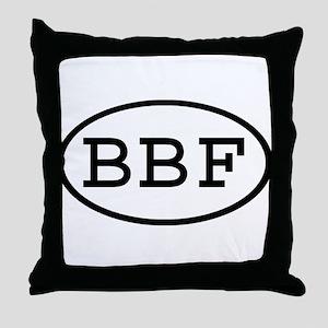 BBF Oval Throw Pillow