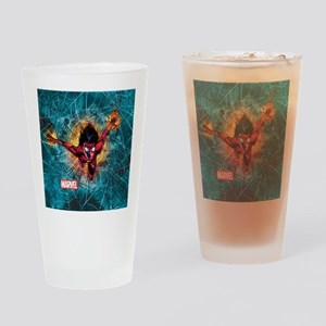 Spider-Woman Leaping Drinking Glass