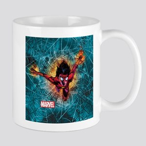 Spider-Woman Leaping Mug