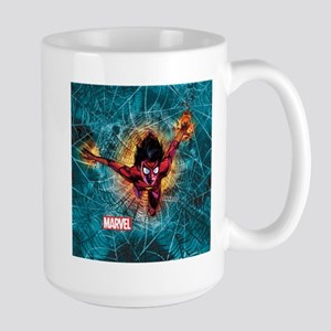 Spider-Woman Leaping Large Mug